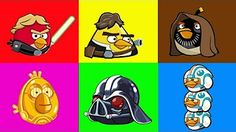 Angry Birds Star Wars All Darth Vader Boss Battles - YouTube