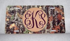 Items similar to Personalized Camo Car Tag on Etsy Future Trucks, Future Car, Car Goals, Camo Baby Stuff, 3rd Wheel, Truck Accessories, Car Stickers, Vinyl Decals, Car Products