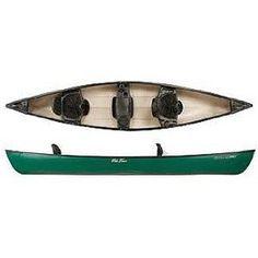Old Town Saranac 146 XT Recreational Family Canoe with Padded Seats, 14-Feet 6-Inch... Padded Seats!