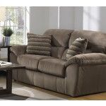 $577.00 Jackson Furniture - Spencer Loveseat in Cocoa Fabric - 4440-02