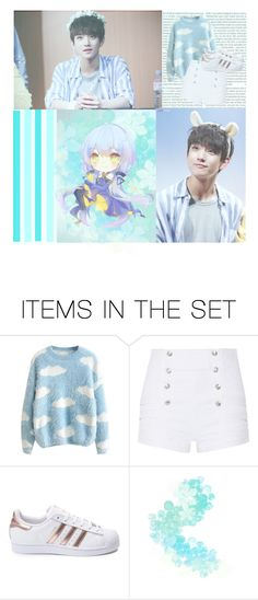 """""""Joshua Hong of Seventeen"""" by ayame-045 ❤ liked on Polyvore featuring art"""