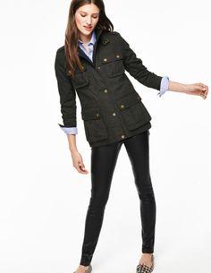 Padstow Wax Jacket WE507 Coats at Boden