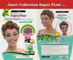 Janet Collection Super FLow Deep Part Lace Wig - MAMAMIA (1 - Jet Blk). CAUTION • Do not let curling or flattening iron temperature go beyond 360°F • Do not use any curling or straightening chemicals • Do not apply oil sheen, hair glosser, mist, or any similar products that may cause cause tangling • At night, use satin covering to product hair HAIR MAY TANGLE IF GENERAL CARE DIRECTIONS ARE NOT FOLLOWED PROPERLY Curling Iron Directions: - Hold for 30-60 seconds, do not overlap hair…