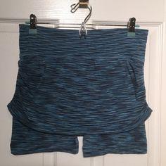 Athleta Blue striped athletic skort. Fits more like a size S. Athleta Shorts Skorts