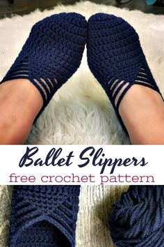 Ballet Slipper crochet pattern