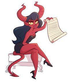 Diablesse diaboliquement diabolique