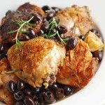 Spiced Chicken with Olives » Recipes and Foods from Morocco