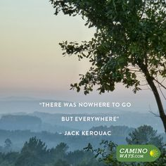 """""""There was nowhere to go but everywhere"""" - Jack Kerouac #Travel #Adventure #Escape #Wanderlust #TravelQuote"""