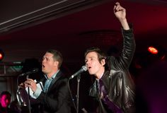 Michael Bublé And Nate Ruess. What a great combination. I would love to hear whatever they were singing.