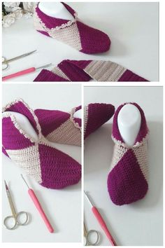Örgu patik Very Fashionable Square Puzzle Booties Easy To Crochet Booties Models Crochet Slipper Boots, Crochet Baby Boots, Knitted Booties, Knit Shoes, Knitted Slippers, Crochet Slippers, Knitting Patterns Free, Hand Knitting, Crochet Patterns