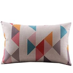 "Createforlife Cotton Linen Decorative Throw Pillow Case Cushion Cover Multicolor Tetris Pattern Rectangle 12"" * 20"" Createforlife http://www.amazon.com/dp/B00MXZ9PCE/ref=cm_sw_r_pi_dp_yOvcxb0HFKW16"