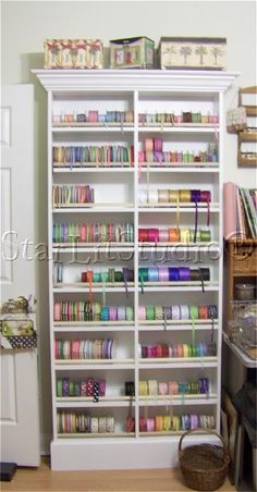 love this ribbon organizer!