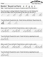 letter a forms cursive capital letter a z practice worksheet 6869