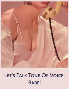 5 reasons why Tone of Voice is one of THE most important parts of branding. Megan Raynor for Brand Babes Studio Tone Of Voice, The Voice, Of Brand, Business Tips, Told You So, Knowledge, Advice, Branding, Let It Be