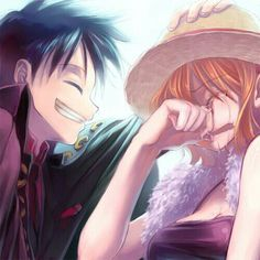 Luffy and Nami _One Piece