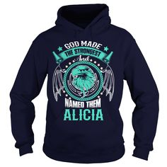 ALICIA This Is An Amazing Thing For You. Select The Product You Want From The Menu. Never Underestimate Of A Person With ALICIA Name. 100% Designed, Shipped, and Printed in the U.S.A.