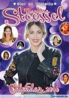 Calendrier star of violetta martina stoessel 2016 - A vendre