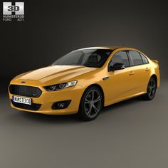 Ford Falcon (FG) XR8 2015 3d model from humster3d.com. Price: $75