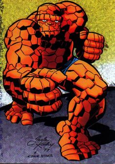 Thing by Jack Kirby