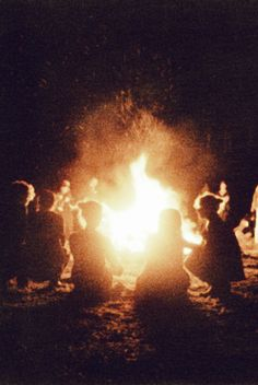 enjoy our weekly campfires where we have discussions chosen by our guests