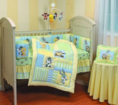Baby Looney Tunes Themed nursery