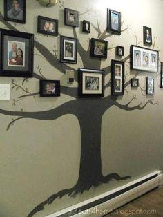 Family Tree photo frame wall