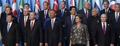 World leaders at the G-20 summit in Antalya, Turkey. (AP Images)