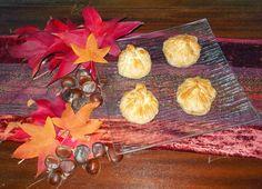 Paquetes de castañas de masa filo y huevos blandos. Receta del Reto de Noviembre