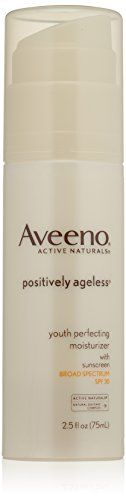 Aveeno Active Naturals Positively Ageless Youth Perfecting Moisturizer, SPF 30, 2.5 Ounce Aveeno http://www.amazon.com/dp/B000YY9EHC/ref=cm_sw_r_pi_dp_7dFSub0S5DWN4