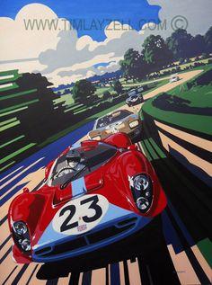 Automotive Art Originals