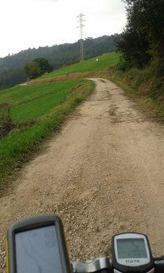 RUTAS EN ASTURIAS: Avilés, subida al Gorfolí desde Villayo. En bici.