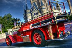 Ride down Main Street USA on one of the Fire Engines!