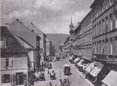 Annenstraße, Graz, 1899 Popup, Street View, Austria, Graz, Old Pictures, Beautiful Places, Pop Up