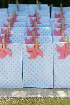 Polkadots & Pinwheels Birthday Party Ideas | Photo 21 of 40 | Catch My Party