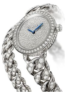 A diamond watch by Bulgari is featured in Town & Country's Jewel of the Day. Amazing Watches, Beautiful Watches, Bulgari Jewelry, Jewelery, Stylish Watches, Watches For Men, Italian Jewelry, Expensive Jewelry, Fantasy Jewelry