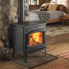 The Jotul 55 | Jotul Carrabassett | Jotul Wood Stove can heat up to 2,500 sq.ft  This Large Room Heater is a quality, budget friendly stove.