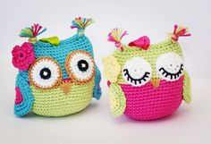 "42 Likes, 1 Comments - d'Eva Design (@deva_design_) on Instagram: ""OWLs of color #crochetaddict #handmade #amigurumi #crochetaddict #owls #yarn"""