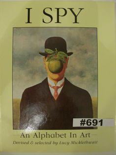 I Spy An Alphabet in Art Hardback Alphabet Book by Lucy Micklethwait 1991 art by…