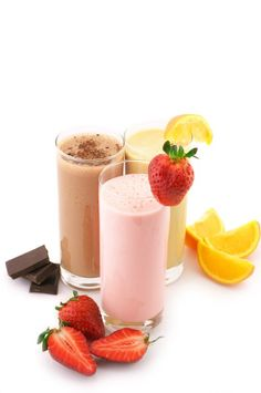 3 Delicious Protein Shake Recipes  Orange Julius Protein Shake - Strawberry Protein Milkshake - Dark Chocolate Protein Shake  Packed with 20...