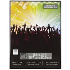 <div>Display your favorite poster, artwork or photograph in this affordable wall frame. It has b...