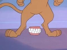 A close up shot of Scooby's feet from The Scooby Doo Show. Scooby's teeth are laying at his feet after he had them pulled out and sat on them to prevent. No Face Zombie-Scooby Feet The Scooby Doo Show, Tom And Jerry Show, Warner Bros, Cartoon Network, Disney Characters, Fictional Characters, Animation, Deviantart, Face