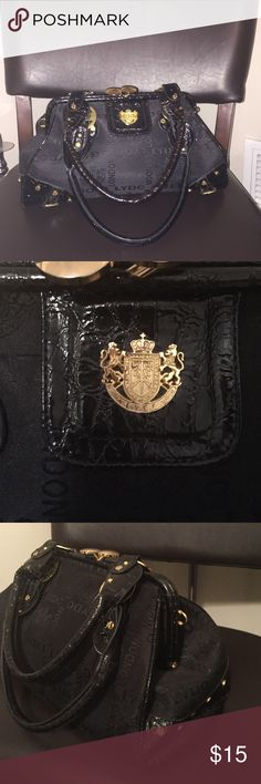 Black purse Black purse. Great condition. Gold accents. LYDC London  Bags