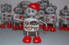 My Big Red ShoeBot in Paris ~ Polymer  Robot