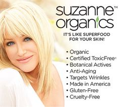 Win the Ultimate Set of All-Natural SUZANNE Organics Skincare and Body Care - A $299.99 Value!