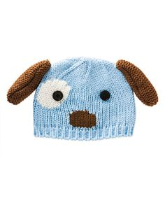 Look at this Blossoms & Buds Blue Dog Beanie on #zulily today!