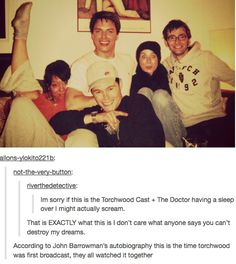 My Whovian hearts grew three sizes just reading this.>>>> so it was a sleepover!!!
