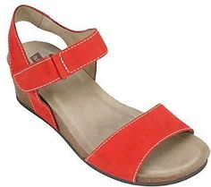 5920523a082 White Mountain Leather Wedge Sandals - Haines