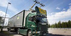 Scania trucks hit electric motorway