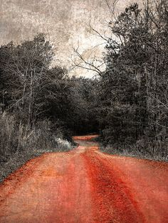 Red Dirt Road by Chris Overcash, via Flickr