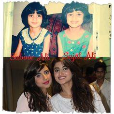 Cute sisters' childhood!